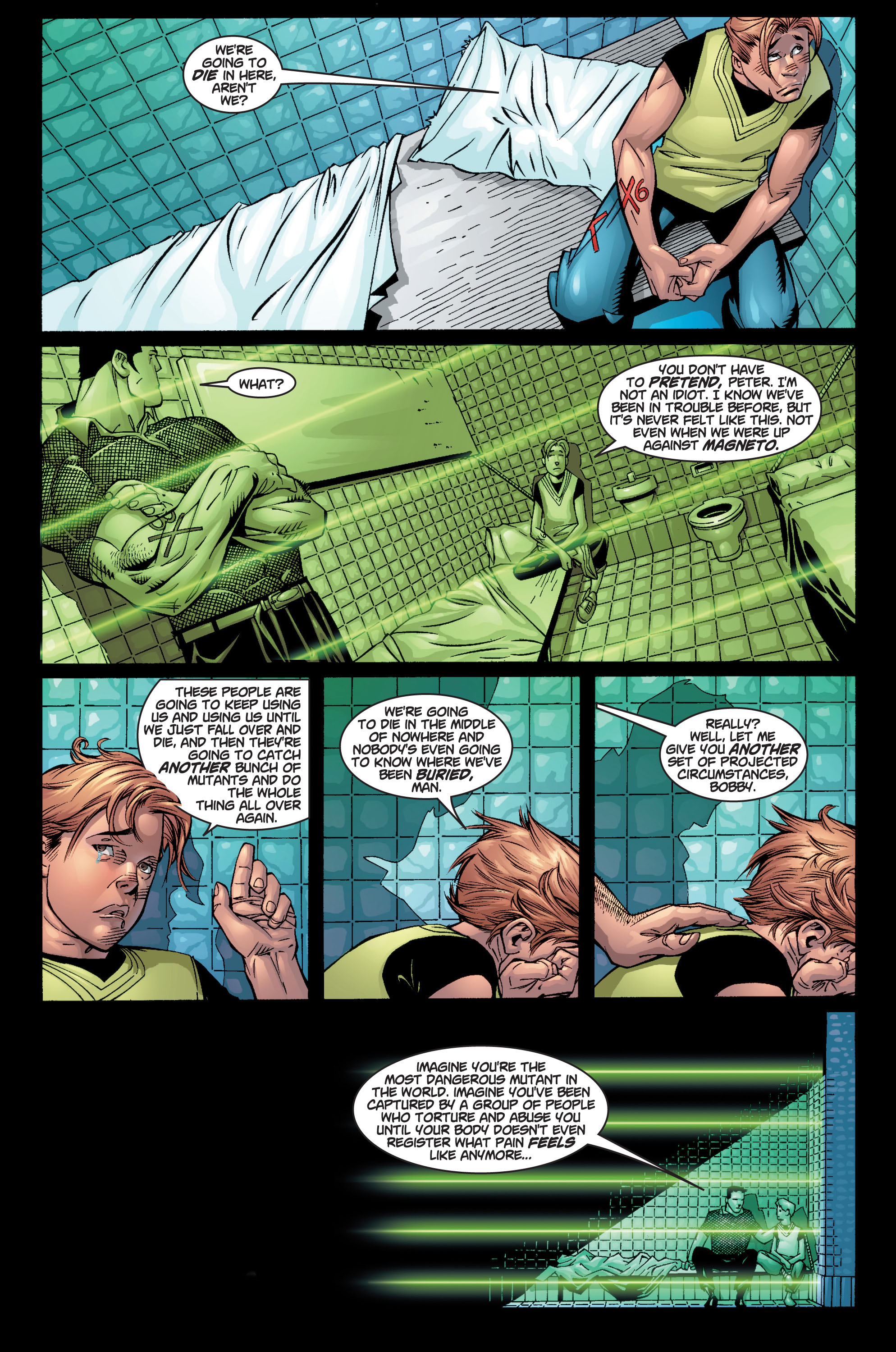 Read online Ultimate X-Men comic -  Issue #10 - 18