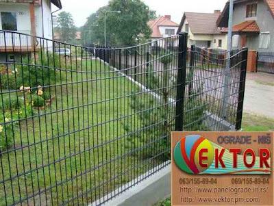 Dvorišne panelne ograde