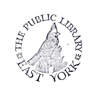 East York Library stamp