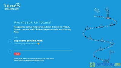 Mengisi informasi yang dibutuhkan pada pendaftaran Toluna Indonesia | SurveiDibayar.com