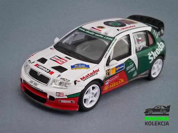 Abrex Škoda Fabia WRC Rally Argentina 2005