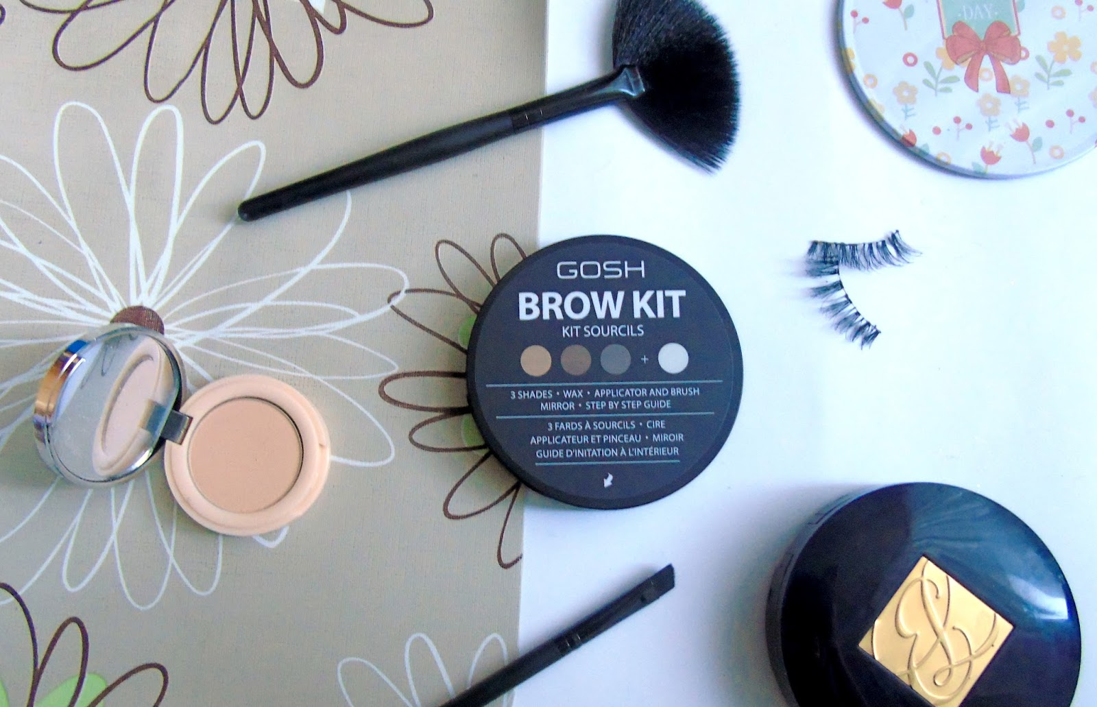 Gosh Eye Brow Kit - paletka cieni do modelowania brwi