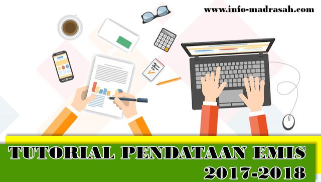 Seperti biasanya kiprah operator madrasah yaitu melaksanakan peng TUTORIAL PENDATAAN EMIS 2017-2018 (www.info-madrasah.com)