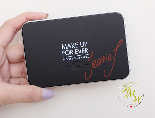 a photo of Make Up For Ever Jessie J Artist Face Color Trio Palette