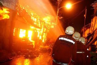 Kebakaran Hebat Landa Pabrik Kembang Api di Tanggerang, 23 Orang Tewas