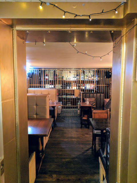 Where to drink in Conwy North Wales: The vault at the Bank of Conwy