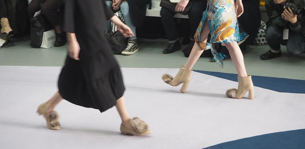 fur footwear LFW