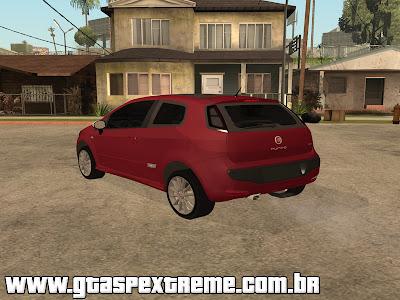 Fiat Punto 2013 para GTA San Andreas