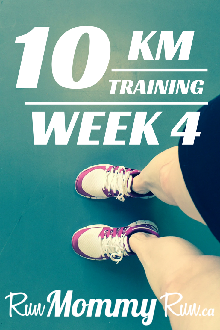 10 km training, Week 4