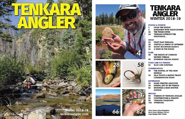 Tenkara Angler Magazine Winter 2018-19