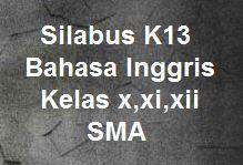 Silabus K13 Bahasa Inggris Kelas X Xi Xii Sma Revisi 2019 Kherysuryawan Id