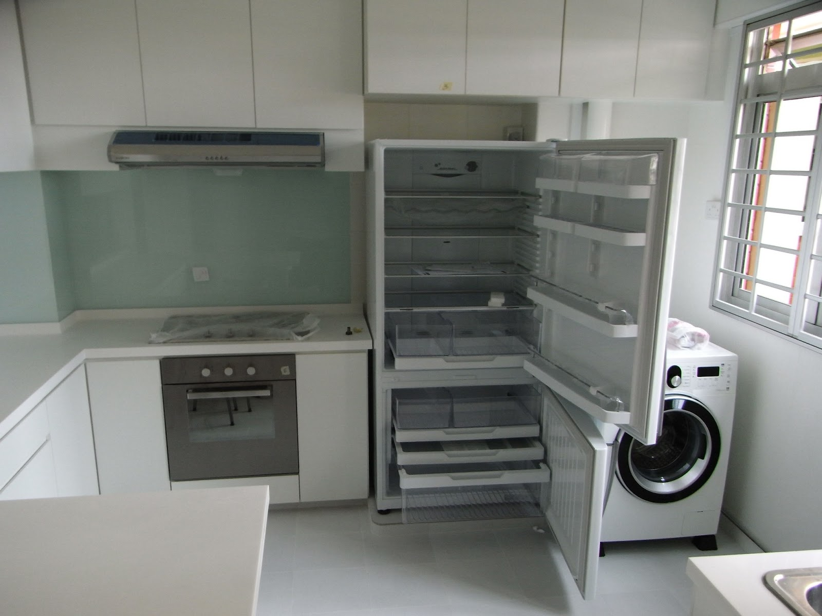 Our HDB Flat Renovation In 2009: Kitchen Design Concepts