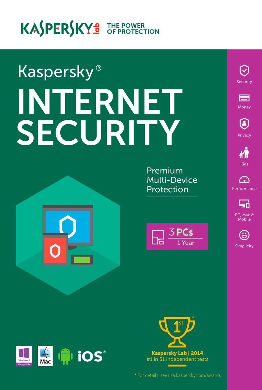 Kaspersky Internet Security 2018 Protecci 243 N Para Pc