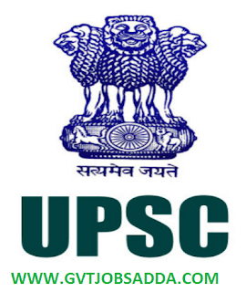 UPSC Notificatio
