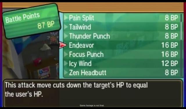 Move Tutor~ Pokemon Ultra Sun and Ultra Moon