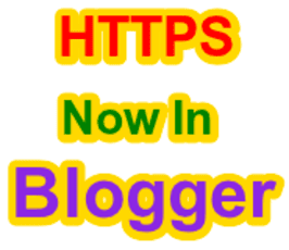 How To enable HTTPS in blogger