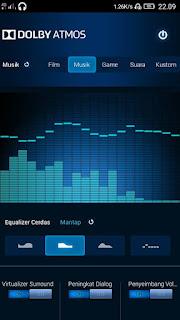 Cara Aktifkan Dolby Atmos di LENOVO A7000