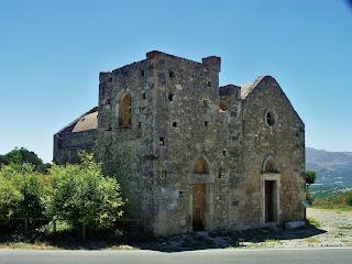 Faistos, kościół  Agios Georgios Phalandras