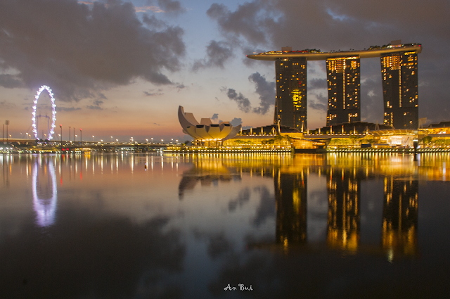 Marina Bay Sands in early morning