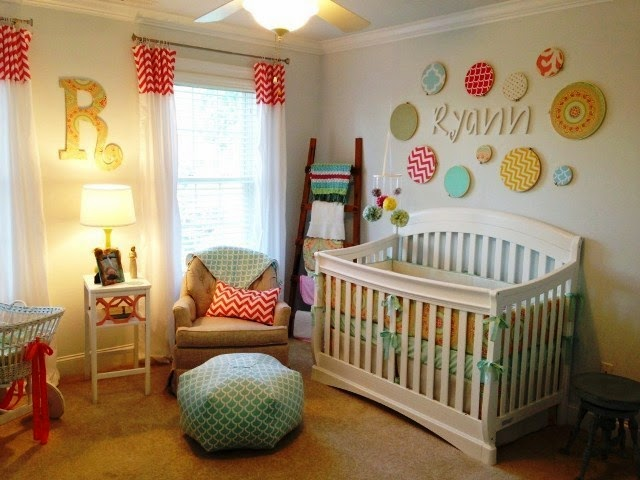 paint colour ideas for baby room