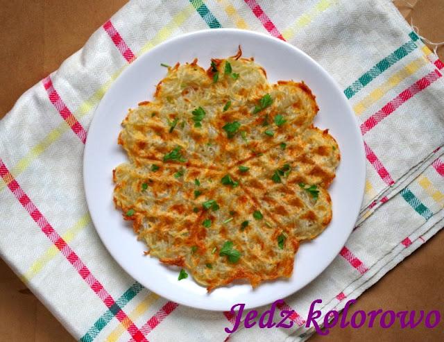 gofry z surowych ziemniaków