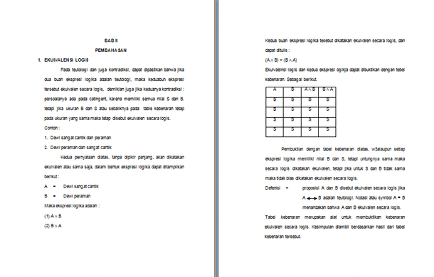 Contoh Makalah Matematika Diskrit