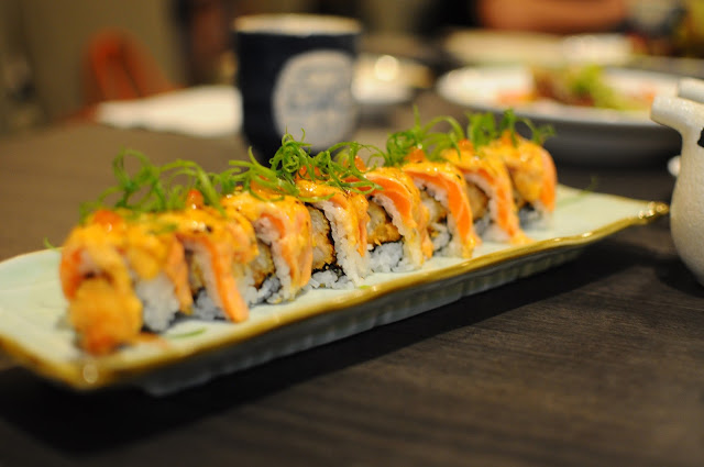 Barashi Tei Food Review Spicy Salmon Maki Lunarrive Singapore Lifestyle Blog