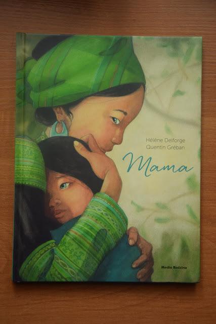 """Recenzje #60 - Mama"""" - okłaka książki Hélene Delforge pt. """"Mama"""" - Francuski przy kawie"""