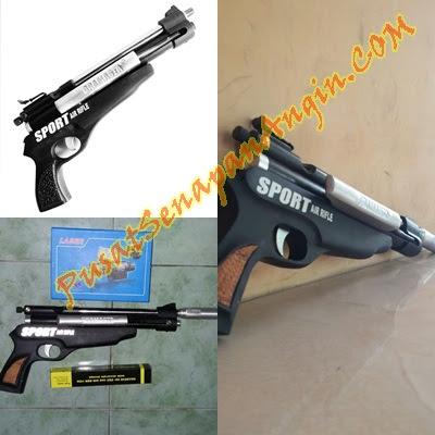 Jual Pistol Senapan Angin Mini Bramasta Sport