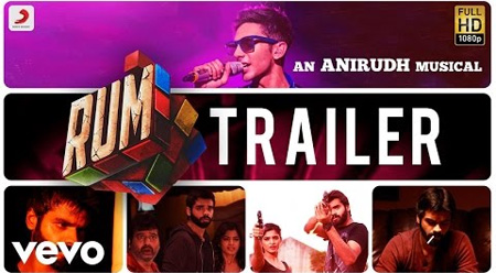 Rum – Official Tamil Trailer | Anirudh | Hrishikesh, Sanchita, Vivek