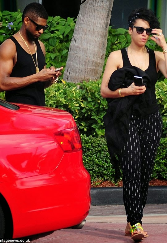 Usher engaged to his longtime girlfriend, manager and business partner Grace Miguel