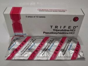 TRIFED Tablet, Sirup (Pseudoefedrin HCl, Triprolidin HCl)