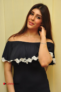 Actress Aditi Singh Pictures in Black Short Dress at tur Talkies 2 Movie Opening  0007