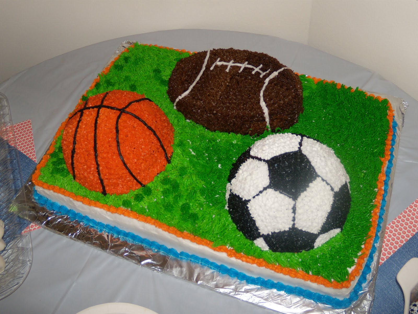 Hart A Cakes Sports Ball Themed Birthday