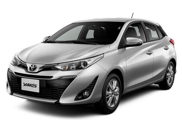 Ficha Técnica Toyota Yaris Hatchback