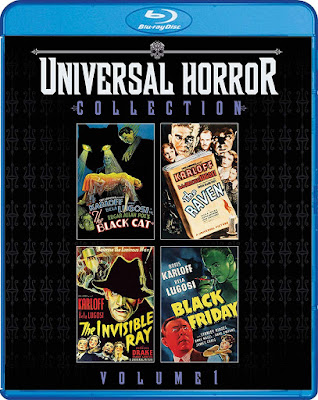 Universal Horror Collection Volume 1 Blu Ray