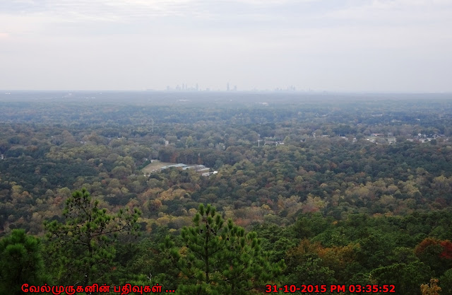 Stone Mountain Fall Season View
