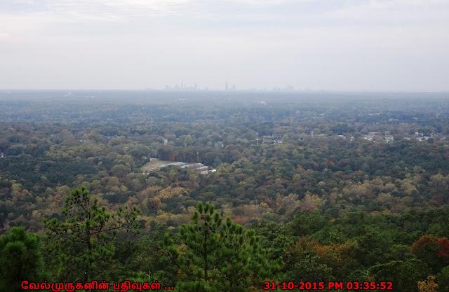 Stone Mountain Fall Season View