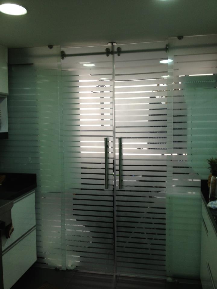 Puertas en vidrio reflecta divisiones de bano o - Vidrio templado cocina ...
