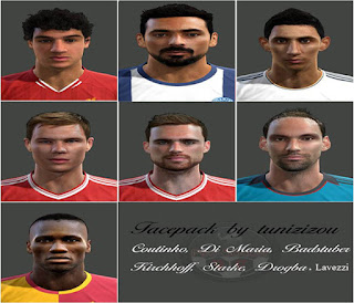 Facepack v2 Pes 2013 by tunizizou