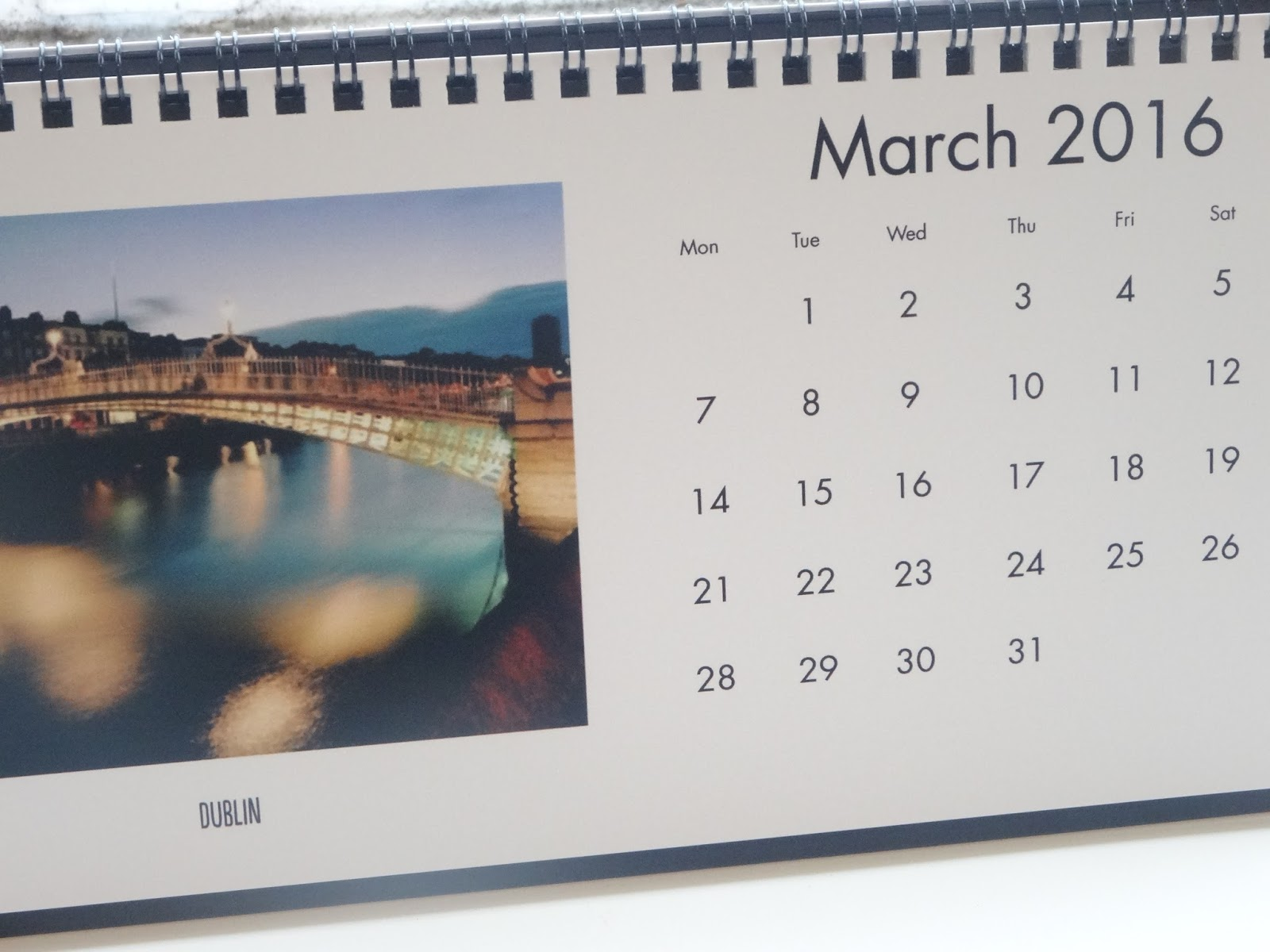 Snapfish Photo Calendar