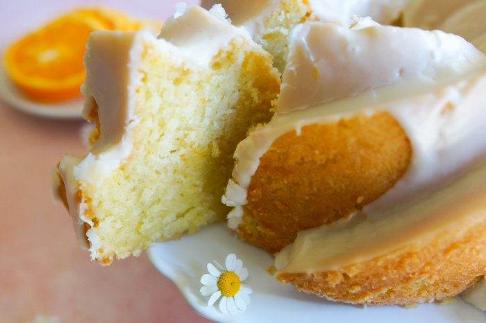 Elderflower and Orange Bundt Cake - perfect for Mother's Day...or a royal wedding. ♥ bakeat350.net