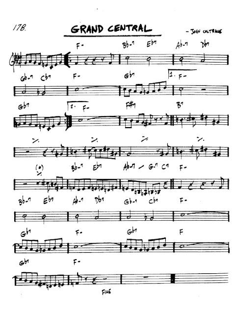 Partitura Violín John Coltrane