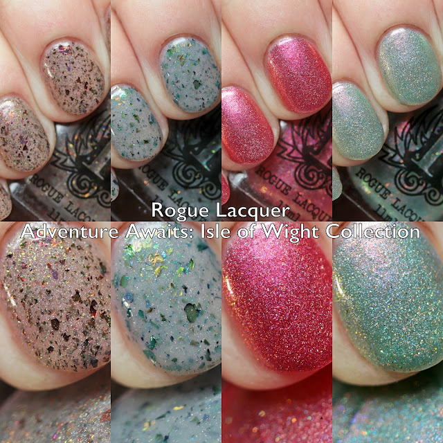 Rogue Lacquer Adventure Awaits: Isle of Wight Collection
