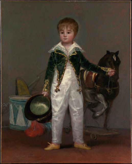 Francisco de Goya - Pepito Costa y Donells - 1813