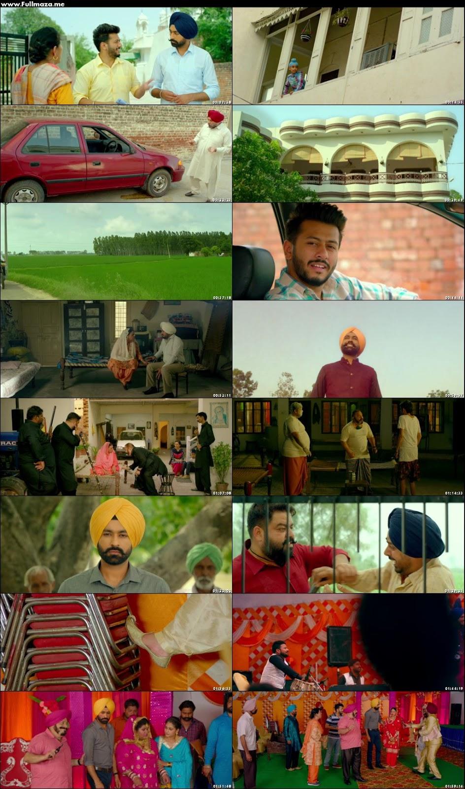 Afsar 2018 Punjabi Movie 480p Hdrip 340mb Khatrimazafullpro