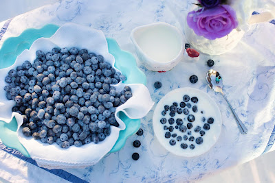Free stock photos of food and high quality - Breakfast Blueberry Food.