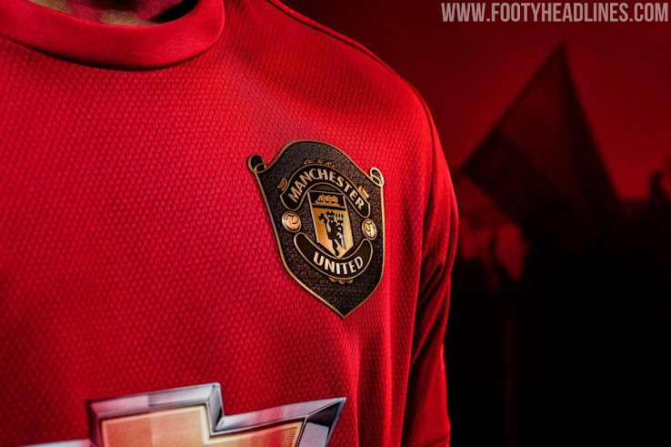 san francisco 0290e b5052 Manchester United 19-20 Home Kit Released - Footy Headlines