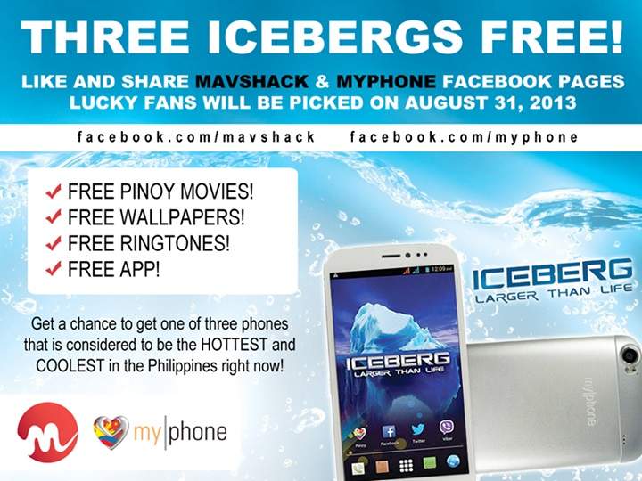 MyPhone ICEBERG for FREE