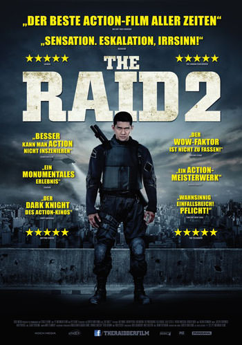 The Raid 2 2014 Dual Audio ORG Hindi 5.1Ch 1.3GB BluRay 720p poster